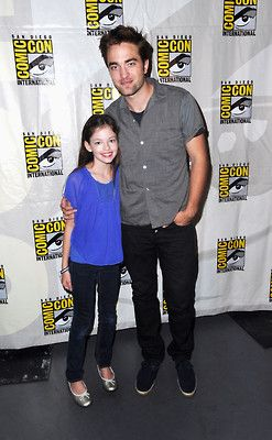 Rob and Mackenzie at Comic Con