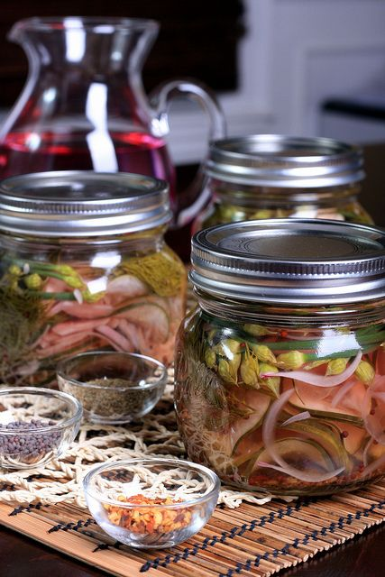 Easy Refrigerator Pickles by Jeff and Erin's pics, via Flickr