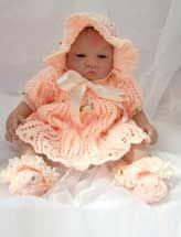 Leafy Lace Dress Set $6.99