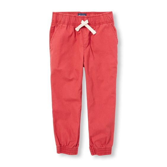 Boys Woven Pull-On Jogger Pants
