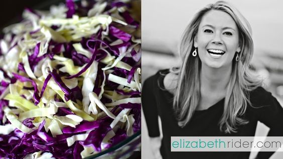 How to Shred Cabbage with a Knife  Head on over to http://www.elizabethrider.com and subscribe to my email list for exclusive free content including healthy recipes, cooking classes and wellness advice that actually works. See you there!