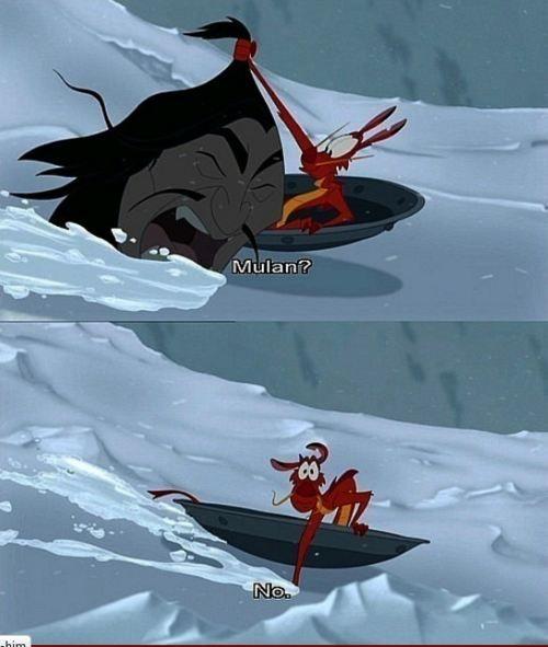 Not Mulan.
