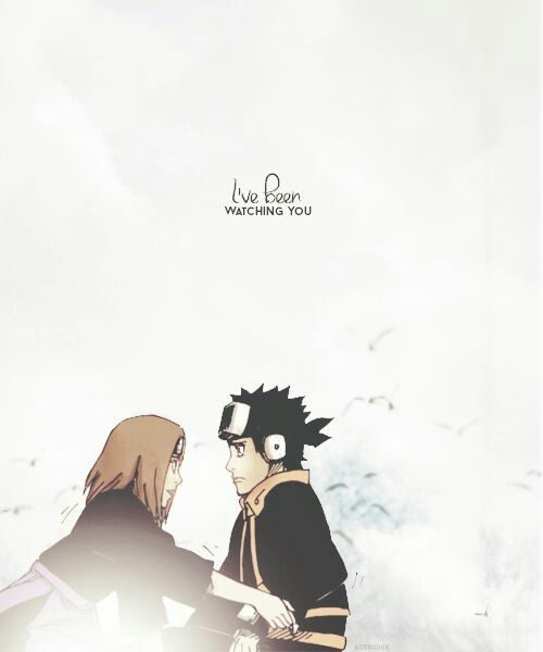 I've been watching you  rin #obito #rin