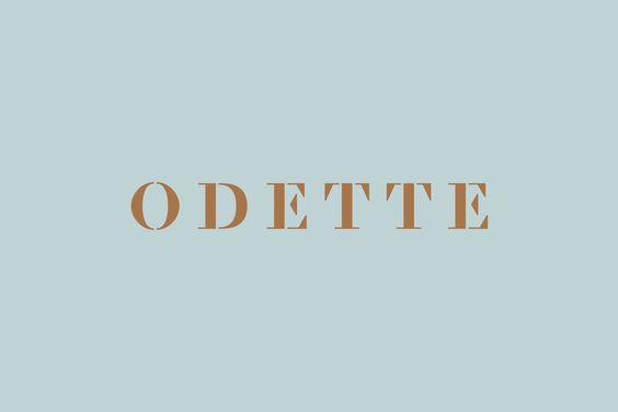 Odette designed by Dmowski & Co.
