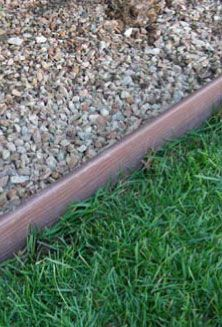 Woodflex plus bender board is a remarkable alternative to for Alternative garden edging