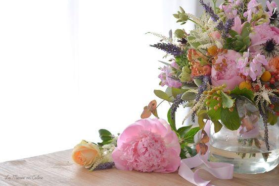 {Inspiration} Un bouquet de mariée pour juillet - La Mariée en Colère Blog Mariage, grossesse, voyage de noces