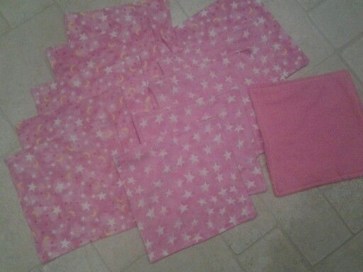 Cloth wipes I made and sold https://www.facebook.com/erikawahm1?ref=hl