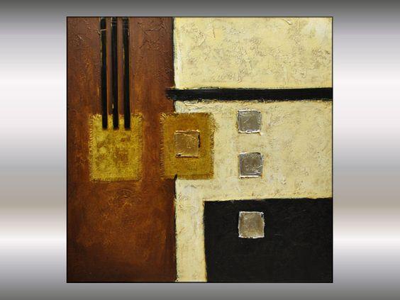Tableau abstrait art modern peinture contemporain de - Tableau d art moderne ...