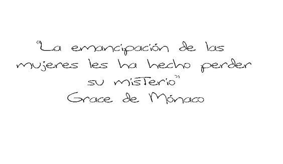 #Frase #citas #GraceKelly