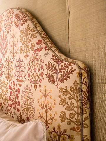 How to upholster a headboard reupholster furniture the - Make your own headboard ...