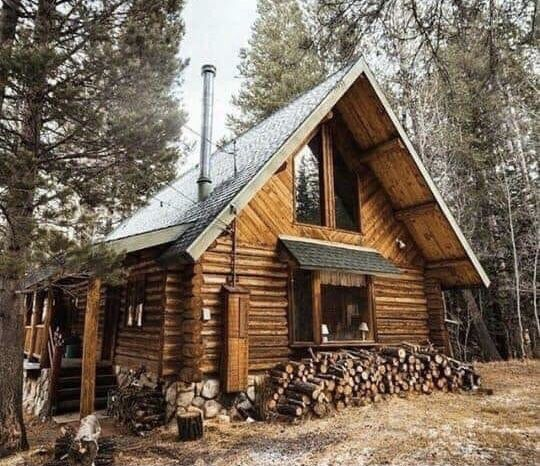 Pin By Jo On Simple Country Homes Small Log Cabin Log Cabin Homes Log Homes