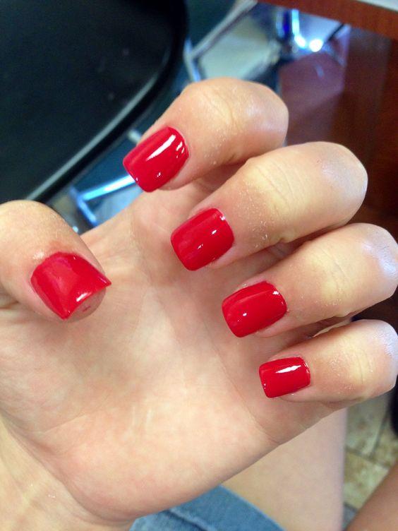 #nails #acrylics #pink