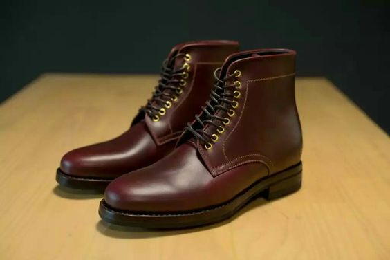 Pilgrim Red Wine Milestone Boot