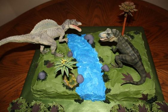 Jurassic Park Birthday Cake cakepins.com Party Ideas ...