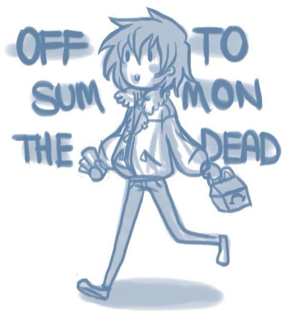 Sometimes I imagine Nico like this