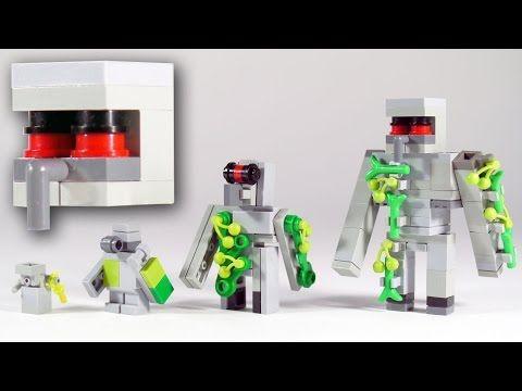lego minecraft tree instructions