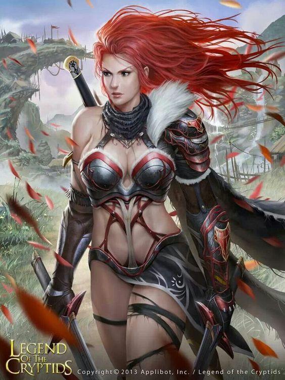Armor chick: