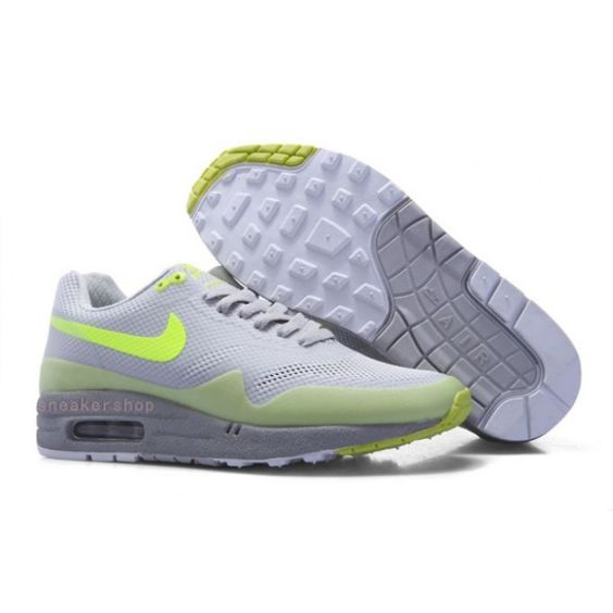 #Nike #sports Nike Shox Shoes, Nike Mens Shoes Buy Nike Air Max 1 Hyperfuse Mens Shoes White Grey 69