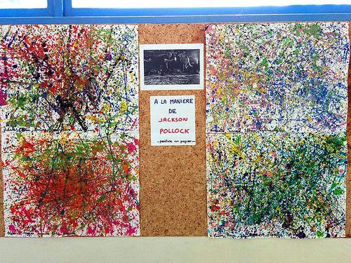 A La Manière De Jackson Pollock Jackson Pollock Jackson