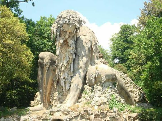 Spectacular sculpture in Florence at Parco Mediceo di Pratolino