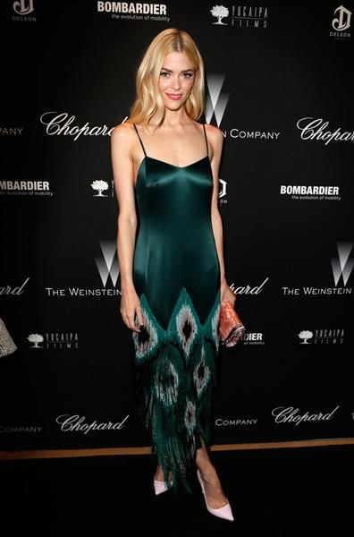 Rosie Huntington-Whiteley, and more celebs in slip dresses