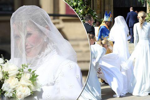 Ellie Goulding Hochzeit Royals Die Show Stehlen Als Herzogin Von York Kommt Mit Eugenie Und Beatrice Mfitv Hochzeit Ellie Goulding Herzog