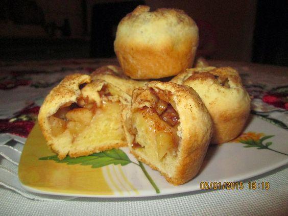 Prajituri de casa: Pachetele cu mere