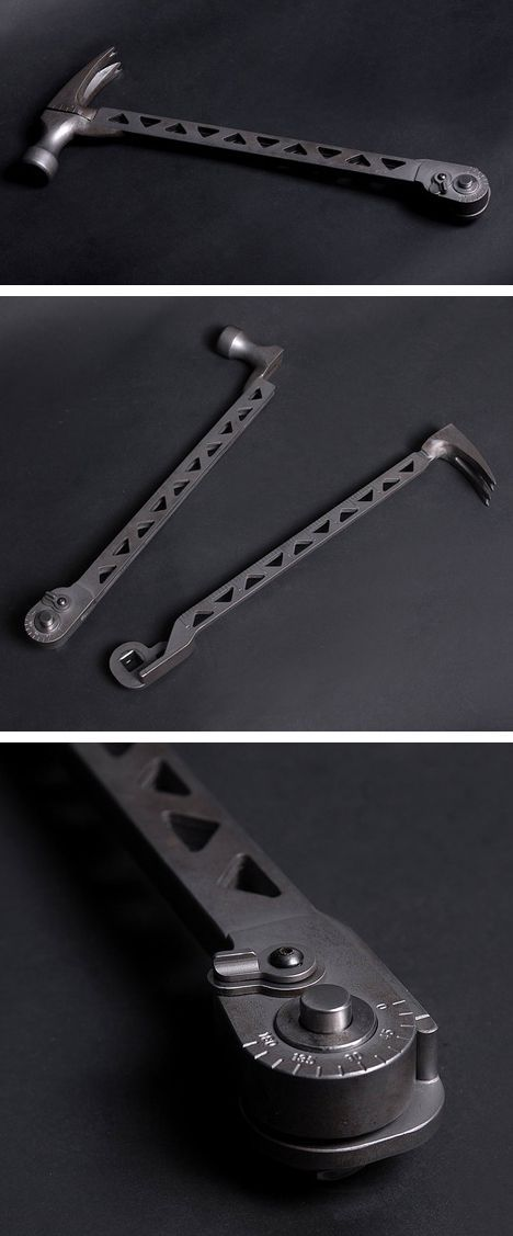 Cole-Bar Hammer - multi-tool design //