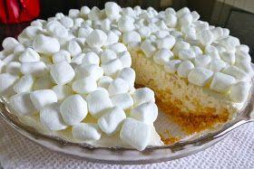 Marshmallow Cheesecake. No bake