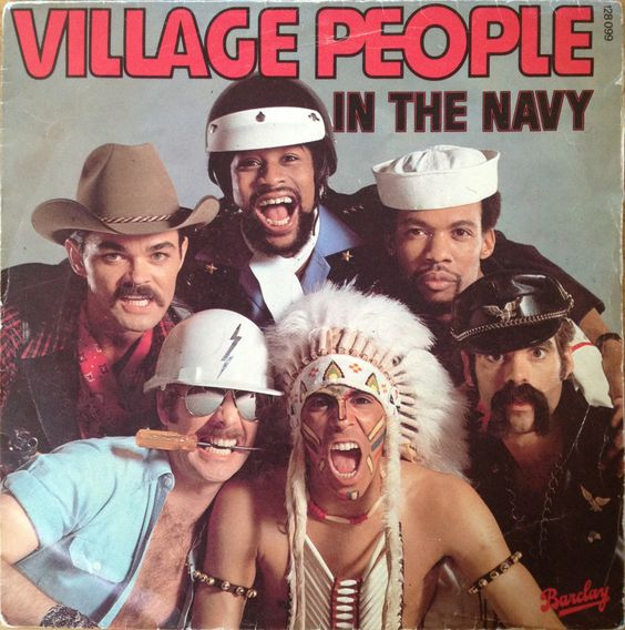 Village People - In the navy 45t