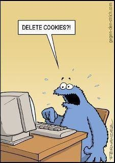 Cookie monster humor