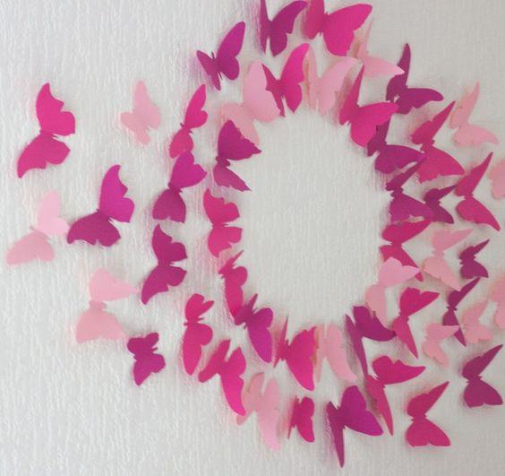 mur papillons gossip girl petites princesses pinterest filles papillons et gossip girl. Black Bedroom Furniture Sets. Home Design Ideas