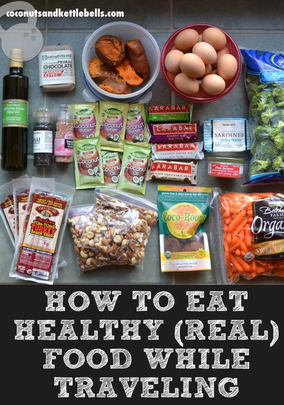 How to Eat Healthy While Traveling - Coconuts & Kettlebells #health #food #traveling http://coconutsandkettlebells.com/eating-real-food-while-traveling/