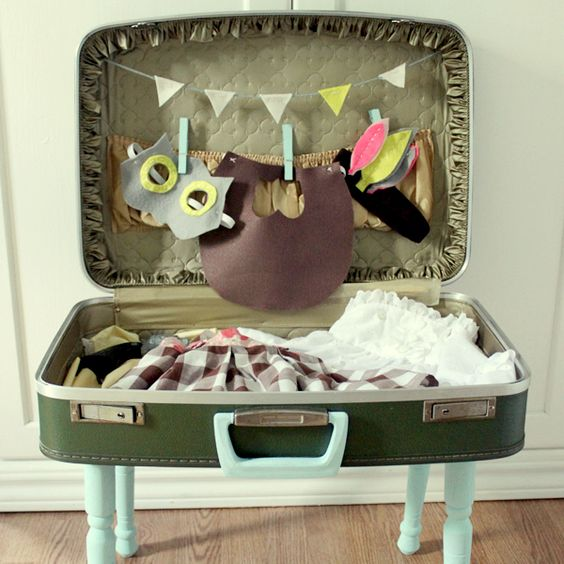 Dress up travel case deluxe