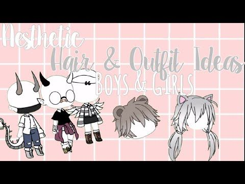 Aesthetic Hair Outfits Girls Boys Gacha Life Must Give Credit Read Desc Youtube In 2020 Cute Cartoon Drawings Cartoon Girl Drawing Aesthetic Hair
