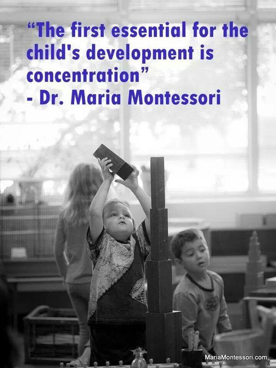Montessori....parent education...maria montessori quote...littleorchardmontessori.com