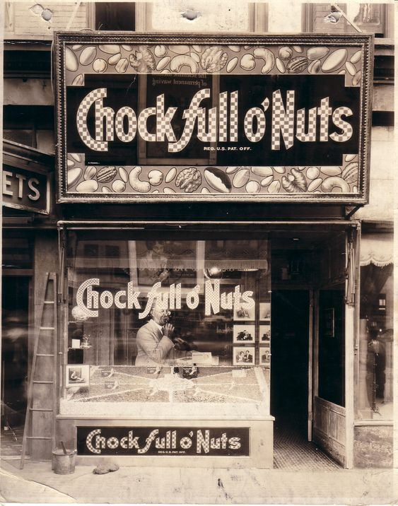 Old Chock Full O Nuts Store Front Favorite Spots In Nyc