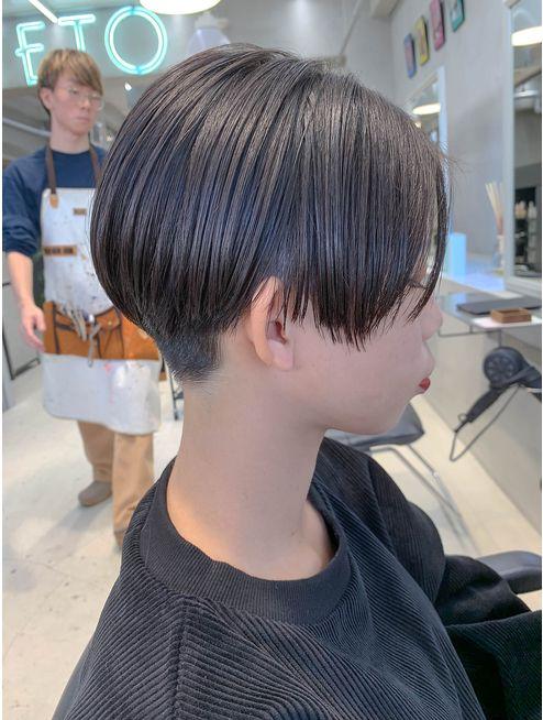 ベリーショート ハンサムショート 黒髪 簡単スタイリング L043480874 テトヘアー Teto Hair のヘアカタログ ホットペッパービューティー ハンサムショート ヘアスタイル ショート 黒髪