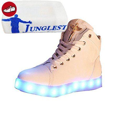 [Present:kleines Handtuch]S1 42 und LED Herbst weise Leucht Laufende Schuhe 7 Damen Aufladen Winter Schuhe Farben Sport JUNGLEST Freizeitschuhe USB Paare DpAcGaH