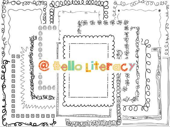 New batch of cute #borders (set of 24)