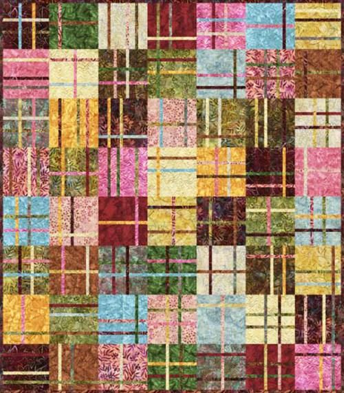 Quilt Pattern Madison Cottage Cranberry Chutney Scrap Quilt Patterns Batik Quilts Quilt Patterns