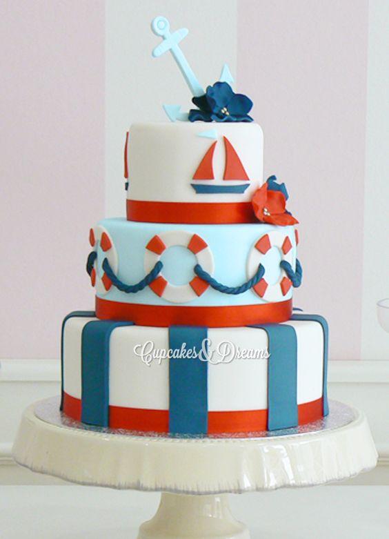 Torta 1 a o marinera buscar con google mi primer a ito for Decoracion cumpleanos bebe 1 ano