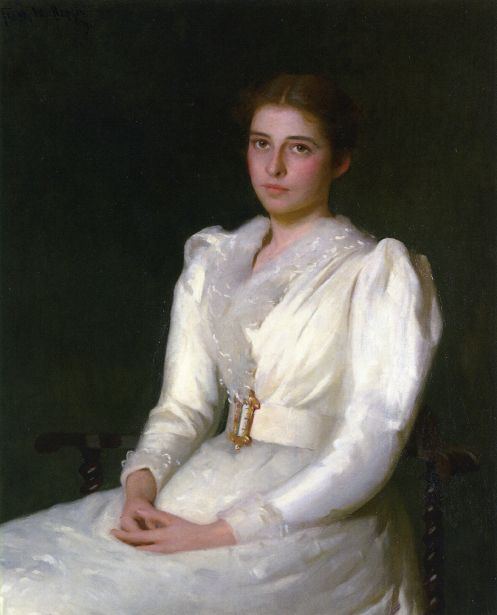 Alice Bacon (Mrs. W. Sturgis H. Lothrop), Frank Weston Benson (1862 – 1951)