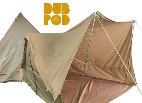 Dubpod Canvas Bell Tent Awning