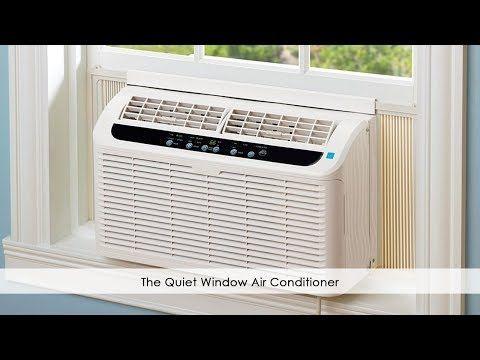The Quiet Window Air Conditioner Hammacher Schlemmer In 2020