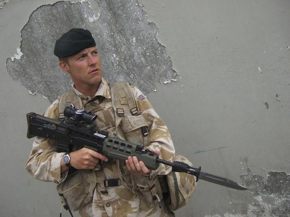 British Army in Afghanistan: A member of the Royal Green Jackets ...