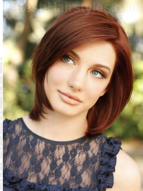 Cute Hairstyles For Medium Red Hair : Gorgeous medium length hairstyles for winter latest