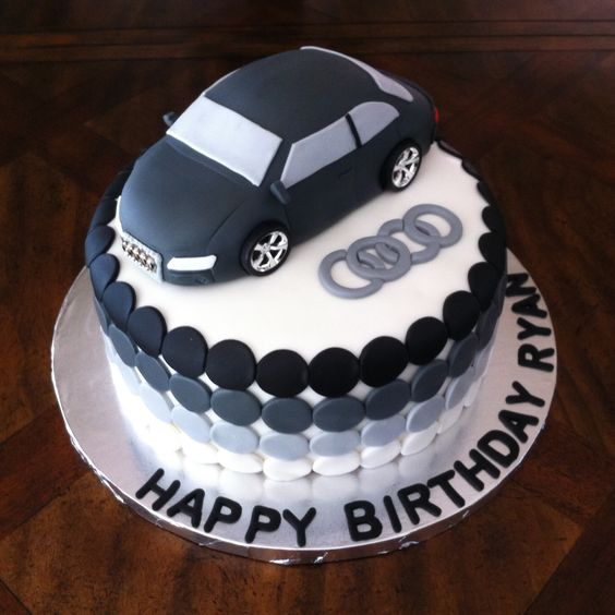 audi car cake ideas pinterest autos auto kuchen und. Black Bedroom Furniture Sets. Home Design Ideas
