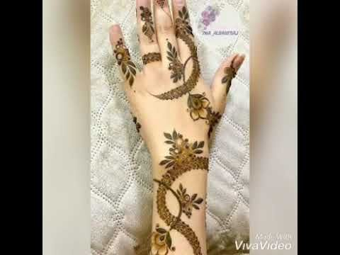 مجموعه نقشات لمحبي الحناء Youtube Henna Hand Tattoo Hand Henna Hand Tattoos