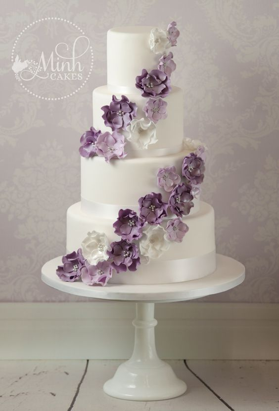 Change the purple to pink, nice simple flowers